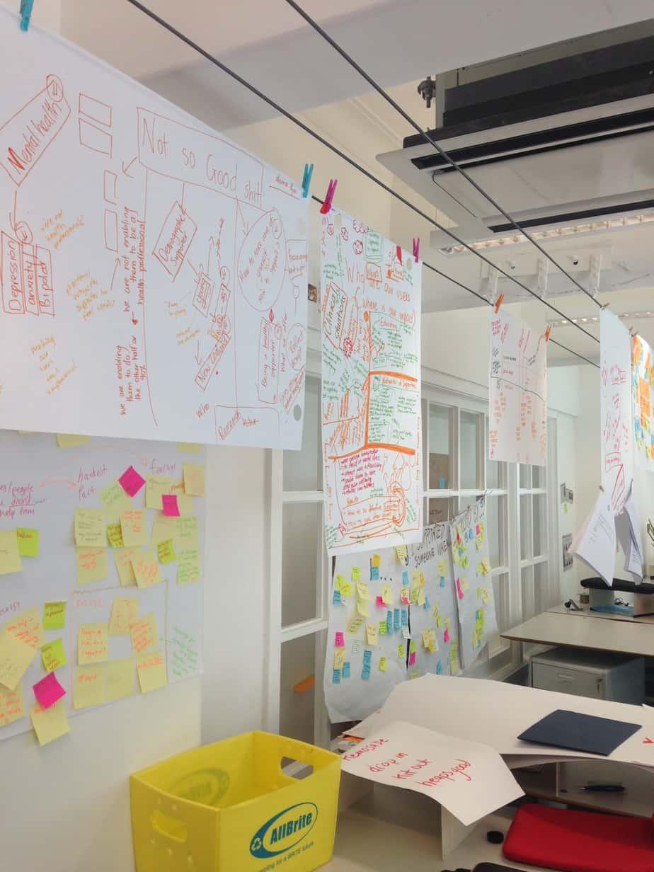 Visuals at Lifehack Labs
