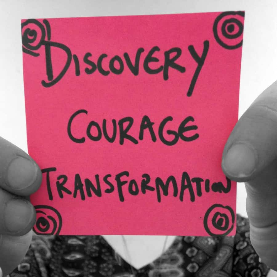 #Lifehacklabs discovery courage transformation