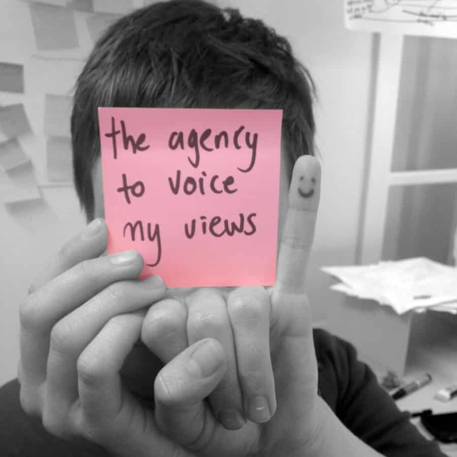 #Lifehacklabs the agency to voice my views