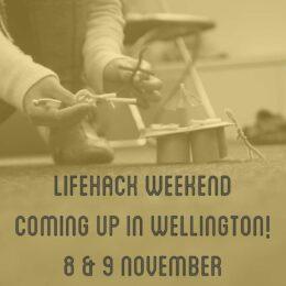 Lifehack Weekend in Wellington