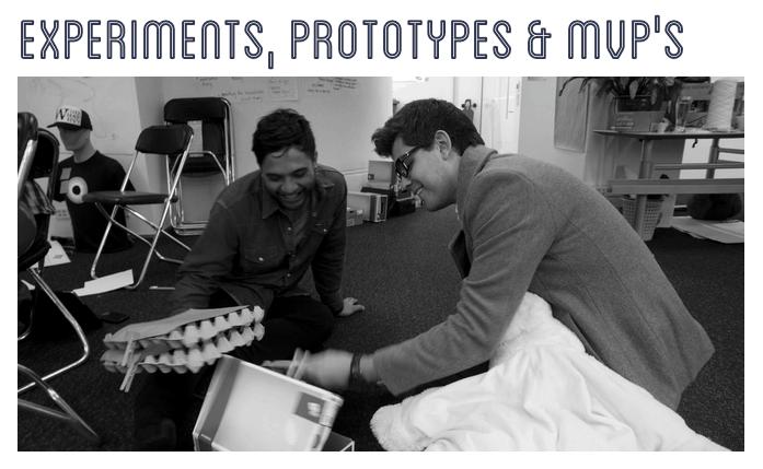 Free Resource - Experiments, Prototypes & MVP's