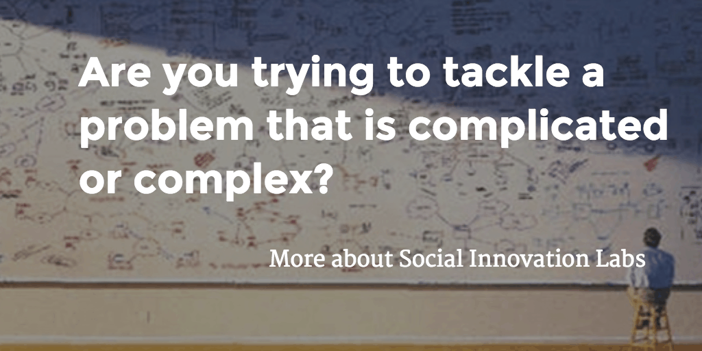 Are you trying to tackle a problem that is complicated or complex?