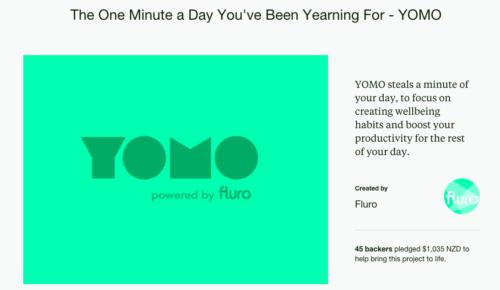YOMO Kickstarter