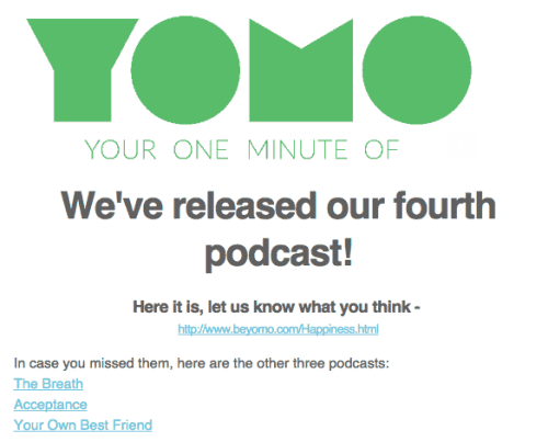 YOMO Podcasts Prototype