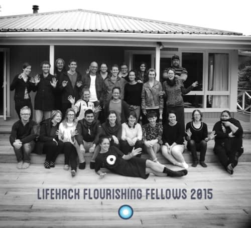 Group Photo of Lifehack's Flourishing Fellows 2015