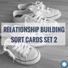 Relationship Building Sort Cards Set 2