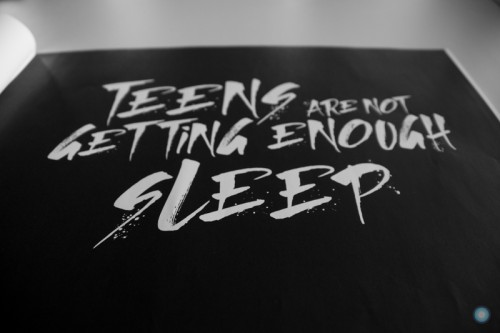 """Teens Are Not Getting Enough Sleep"""