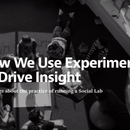 Banner: How We Use Experiments To Drive Insight