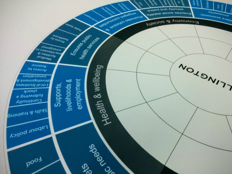 Resilience Framework from 100 Resilient Cities
