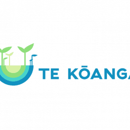 Te Kōanga programme logo - seeds sprouting in spring