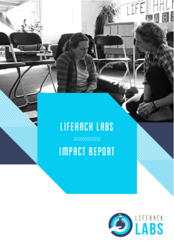 Lifehack Labs 2014 - Impact Report Cover
