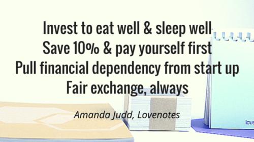 Amanda's top tips