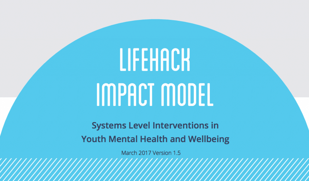 Enabling Youth Wellbeing: Developing a Lifehack Impact Model