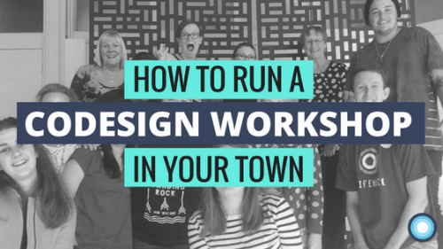 How to run a codesign workshop in your town