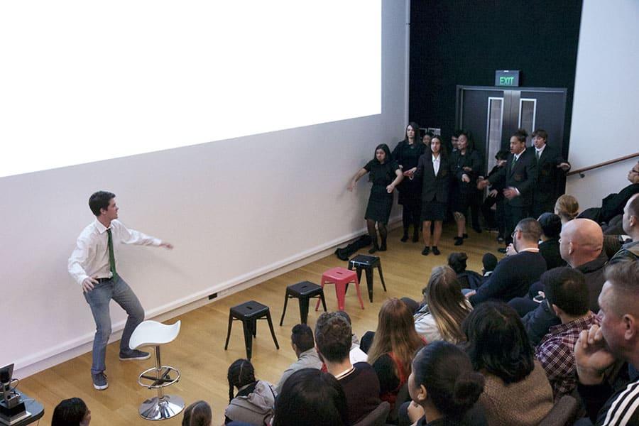 Codesign for Youth Wellbeing Symposium - Haka