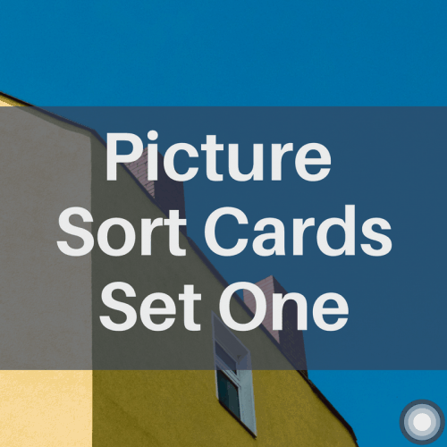 Picture Sort Cards - Set One