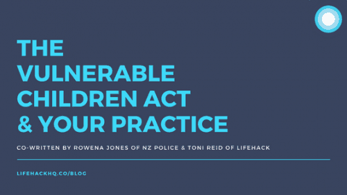 The Vulnerable Children Act & Your Practice